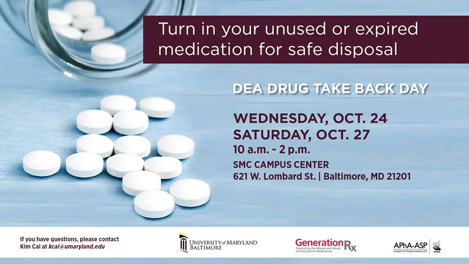 2018 National Drug Take Back Day Events